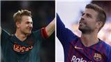 Barca cử Pique làm 'điệp viên', quyết hớt tay trên Juve trong vụ De Ligt