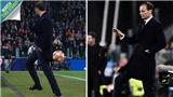 CĐV choáng váng khi HLV Allegri 'đỡ bóng giỏi hơn Lukaku' trong trận thắng của Juventus