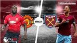 Soi kèo MU vs West Ham (23h30,13/04). Trực tiếp bóng đá. Lịch thi đấu Ngoại hạng Anh