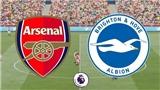 Xem trực tiếp bóng đá Arsenal vs Brighton (05/05, 22h30) ở đâu?