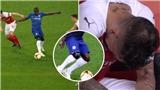 Chelsea: Kante không cần tập, đá đủ trận, chân quấn băng vẫn áp đảo Torreira của Arsenal