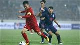 Lịch thi đấu King's Cup 2019. Xem trực tiếp bóng đá Việt Nam vs Thái Lan trên VTC1, VTV5