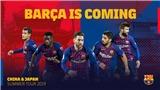 Lịch thi đấu giao hữu mùa Hè 2019 của Barcelona. Lịch du đấu của Barcelona