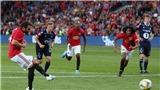 VIDEO Kristiansund 0-1 MU: Mata giúp 'Quỷ đỏ' toàn thắng cả 5 trận trước mùa