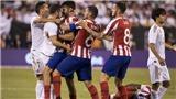Cảnh hỗn loạn trận Real Madrid vs Atletico: 22 cầu thủ cùng lao vào, suýt choảng nhau