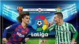 Soi kèo Barcelona vs Betis (2h00 ngày 26/8). Vòng 2 La Liga. Trực tiếp Bóng đá TV