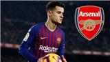 CẬP NHẬT chuyển nhượng Coutinho gia nhập Arsenal: Tottenham nhảy vào phá đám. Barca gạ MU mua Coutinho