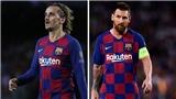 Barcelona: Không chịu chuyền bóng, Messi còn không thèm nhìn mặt Griezmann trên sân tập