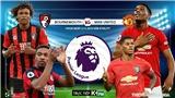 Soi kèo Bournemouth đấu với MU (19h30 hôm nay). K+, K+PM trực tiếp bóng đá: MU vs Bournemouth