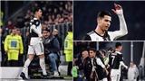 Bị thay ra, Ronaldo bỏ về khi trận đấu giữa Juventus và Milan chưa kết thúc