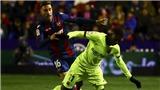 VIDEO Levante 2-1 Barca: Không Messi, Barca thua sốc ở Cúp nhà Vua