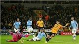 Wolves 3-2 Man City: Ederson bị đuổi, đương kim vô địch thua ngược dù dẫn trước 2-0