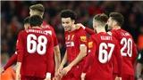 BÓNG ĐÁ HÔM NAY 06/01: Liverpool và Chelsea vào vòng 4 FA Cup. Đình Trọng dự U23 châu Á 2020