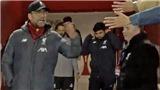 Juergen Klopp gọi CĐV là 'đồ ngu' khi đòi bắt tay trước trận gặp Atletico