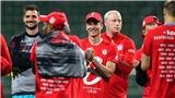 Cầu thủ Bayern Munich diện chiếc áo đặc biệt khi ăn mừng chức vô địch Bundesliga