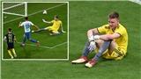 Thủ môn thủng lưới 10 lần nhưng vẫn lập kỷ lục 15 pha cứu thua ở giải vô địch Nga