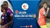 Soi kèo bóng đá Sài Gòn vs Hồng Lĩnh Hà Tĩnh. Trực tiếp bóng đá V-League vòng 6