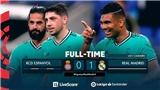 Espanyol 0-1 Real Madrid: Casemiro sắm vai người hùng, Real Madrid hơn Barca 2 điểm