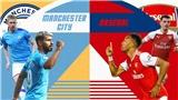 """Kết quả bóng đá, Man City 1-0 Arsenal: Sterling ghi bàn, Man City giành 3 điểm trước """"Pháo thủ"""""""