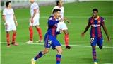 Barcelona 1-1 Sevilla: Coutinho lập công, Barca vẫn phải chia điểm trên sân nhà
