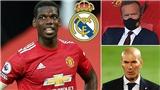 Pogba bắn tín hiệu 'cầu cứu', Real Madrid không thèm đếm xỉa