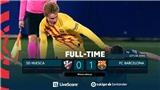 Huesca 0-1 Barcelona: De Jong toả sáng, Barcelona thắng trận đầu tiên trong năm 2021