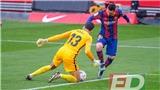 Sevilla 0-2 Barcelona: Messi ghi bàn 8 trận liên tiếp, Barca thắng trên sân khách