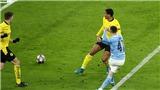 Man City 2-1 Dortmund: De Bruyne và Foden giúp Man City tạo lợi thế