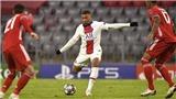 Mbappe chạy 11 bước trong 1,82 giây trước khi ghi bàn vào lưới Bayern Munich