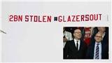 CĐV MU thuê máy bay chở biểu ngữ tố nhà Glazer đánh cắp 2 tỷ bảng