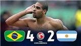 Brazil và Argentina đối đầu thế nào ở các trận chung kết?