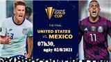 Nhận định bóng đá Mỹ vs Mexico, Chung kết Gold Cup 2021 (07h30, ngày 2/8)