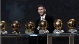 VIDEO bóng đá: Leo Messi chỉ hơn Van Dijk 7 điểm ở Ballon d'Or 2019, và thua ở châu Âu, châu Á
