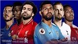 Bảng xếp hạng bóng đá Ngoại hạng Anh 2018-2019. BXH Premier League mới nhất