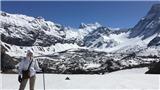 Mùa Đông 'khan' tuyết ở dãy Andes