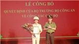 Công bố Quyết định bổ nhiệm Giám đốc Công an tỉnh Lạng Sơn