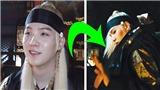 Suga BTS phồng rộp cả tay tập luyện cho 'Daechwita'
