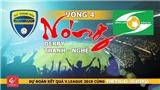 Vòng 4 V-League 2018: Nóng derby xứ Thanh - Nghệ