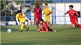 Tin bóng đá VCK U23 châu Á: U23 Việt Nam rèn kỹ 'bài tủ', Thái Lan thua ứng viên vô địch