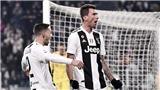 Video clip Juventus 1-0 AS Roma: Mandzukic lại tỏa sáng, Juve vô địch lượt đi
