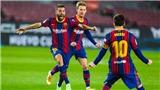 Barcelona 2-1 Real Sociedad: Messi im tiếng, Barcelona vẫn bỏ túi 3 điểm