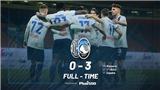 Serie A vòng 19: Ibrahimovic bất lực, Milan thua đậm Atalanta. Inter mất điểm