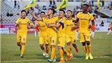 VTC3 trực tiếp bóng đá Việt Nam hôm nay: SLNA vs Bình Định (17h00, 16/1)