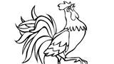 Chim gà, cá gáy, cây cau...