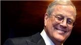 Vĩnh biệt tỷ phú giàu lòng hảo tâm David Koch