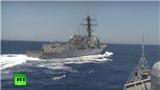 Tàu khu trục tên lửa của Mỹ vào biển Baltic