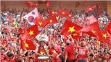 U23 Việt Nam vs U23 UAE: Sân Hàng Đẫy ngập trong sắc cờ đỏ sao vàng