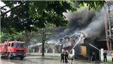 Hà Nội: Đang cháy lớn tại Khu Công nghiệp Sài Đồng B