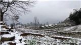Nhiệt độ giảm sâu, băng tuyết phủ trắng nhiều nơi ở Hà Giang