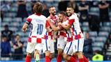 VIDEO Croatia vs Scotland, EURO 2021: Bàn thắng và highlights
